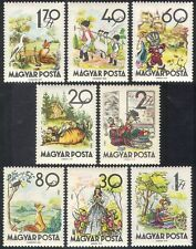 Hungary 1960 Folk Tales/Fairy Stories/Cat/Fox/Donkey/Stork/Snow White 8v n40321