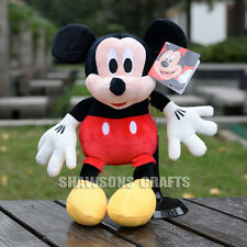 "DISNEY MICKEY MOUSE CLUBHOUSE PLUSH STUFFED TOYS MICKEY 12"" SOFT DOLL"