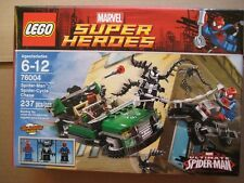 LEGO Marvel Super Heroes Spider-Man Spider-Cycle Chase (76004) SEALED RETIRED