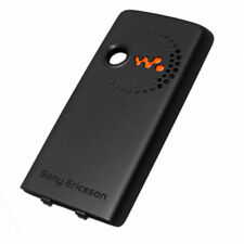 Genuine Original Battery Back Cover For Sony Ericsson W200i - Black