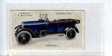 (Jc5969-100)  LAMBERT & BUTLER,MOTOR CARS,2ND,WAVERLEY,1923,#26