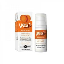 3 X Yes To Carrots Nourishing Moisturising Eye Cream 30ml