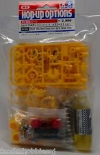 New Tamiya Lunch Box, Pumpkin RC CVA Short Shock Unit Set II - CW01 Yellow Color