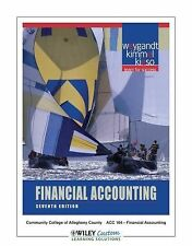 Financial Accounting, 7th Edition for CCAC South by Weygandt, Jerry J., Kieso,
