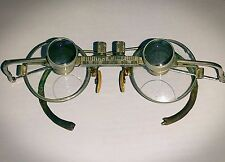 Antique Vintage RARE Surgical Medical Magnifying Spectacles Eyeglasses Oddity
