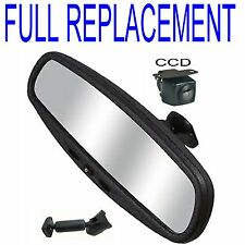 "5"" FULL REPLACEMENT PURE OEM STYLE MIRROR REVERSING / REAR VIEW  &CCD CAMERA"