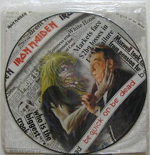 "IRON MAIDEN Be Quick Or Be Dead 1992 UK ORG 12"" PICTURE DISC Sealed !!! METAL"