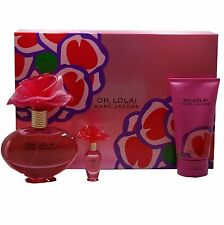MARC JACOBS OH LOLA 3PC GIFT SET EAU DE PARFUM SPRAY 100 ML/3.4 FL.OZ. NIB