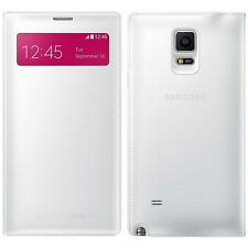 New Genuine Samsung S VIEW FLIP CASE Galaxy NOTE 4 SM N910 smartphone book cover