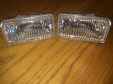 1999 Chevy S-10 Fog Lights Lamps Left & Right Pair w New Bulbs FREE SHIPPING