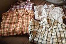 Children's Place Osh Kosh Boys 7/8 Shirts lot of four pre owned