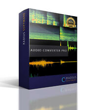 PRO AUDIO CONVERTER. MASTERIZZAZIONE di CD e convertire WAV, MP3, WMA, MP2, M4A Files