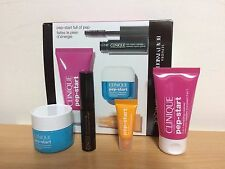 Clinque Pep-Start Makeup Skincare 4 Pcs Travel Size Samples Gift Set Kit