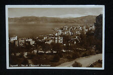 #355  Vintage Postcard Real Photo BEYROUTH -Vue de l'Universite Americaine  RPPC