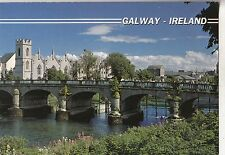 BF29525 galway the salmon weir bridge   ireland   front/back image