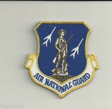 AIR FORCE NATIONAL GUARD COMMAND USAF EMBROIDERED VELCRO  PATCH