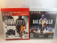 Battlefield: Bad Company 2 Battlefield 3 -Battlefield lot of 2 for PlayStation 3