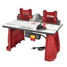 New Router Woodworking Table Craftsman Garage Work Shop Precision Tool Wood