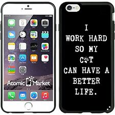 I Work Hard So My Cat Can Have A Better Life For Iphone 6 Plus 5.5 Inch Case Cov