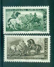 CHEVAUX - HORSES POLAND 1966 Stamp Day