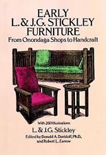 Early L. & J. G. Stickley Furniture: From Onondaga Shops to Handcraft-ExLibrary