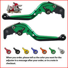 Folding Extendable Adjustable Levers Ducati PAUL SMART LE 2006 Green