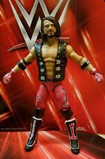 "CUSTOM WWE AJ STYLES ELITE Figure ""RED ATTIRE"" NJPW Bullet Club TNA MATTEL"
