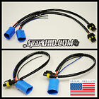 HID Wire Harness Plugs Ballast Connector 9007-2 9004 HB1 HB5 Bulbs POWER Cables