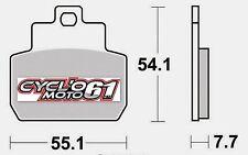 Plaquettes de frein arrière Scooter Piaggio Beverly 500  2006 à 2008 (S1122)