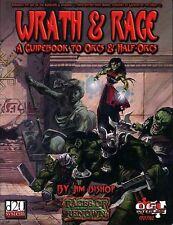 WRATH & RAGE A GUIDEBOOK TO ORCS & HALF ORCS VF! GRR1102 Dungeons Dragons D&D