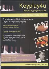 Tricks Of The Trade Vol 4 DVD Learn How To Play Organ Keyboard Drawbars Thirds