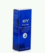 KY True Feel 1.5 oz Premium Silicon Lubricant  Long Lasting Personal Lube
