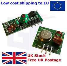 433MHz RF Transmitter and Receiver Pair Wireless Arduino Hobby ASK OOK UK A302