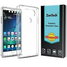 2X ZenTech® Clear TPU Shockproof Case Cover Armor Guard Shield Saver For LG V20
