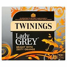 Twinings Lady Grey Bright with Zesty Orange Tea Bags 250 g