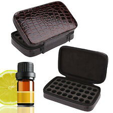 32 Slots Portable Essential Oil Travel Carrying Case Holder Storage Bag