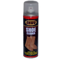 Shoe Cleaner Leather Suede Nuback Fabric Microfibre UGG Boots Spray Can 7061