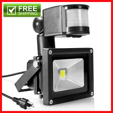 Motion Outdoor Lamp LED Flood Light Motion Security spotlight Sensor Powered NEW