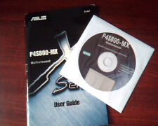 ASUS P4S800-MX Motherboard X Series User Guide AND Support CD drivers E1447