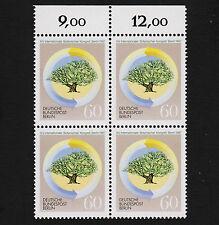 1987 germany Berlin Sc#9N541 Mi#786 Numeral Margin Block Mint Never Hinged
