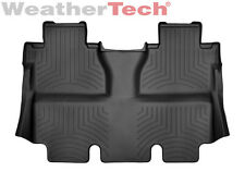 WeatherTech® FloorLiner for Toyota Tundra CrewMax - 2014-2016 - 2nd Row - Black