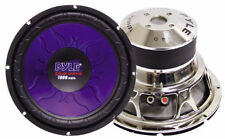 1 New Pyle PL1590BL 15'' 1400 Watt DVC Subwoofer Sub Car Audio