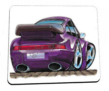 KOOLART - PORCHE CARERRA 911 TURBO - HEAVYWEIGHT QUALITY MOUSE MAT / PAD  0013