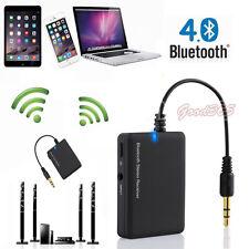 3.5mm Sans Fil Bluetooth Acoustique Stereo Récepteur De Musique 3.5mm Voiture