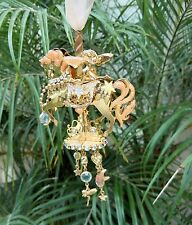 Kirks Folly Carousel Fairy go Round Ornament