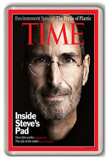 STEVE JOBS TIME MAGAZINE FRIDGE MAGNET IMAN NEVERA