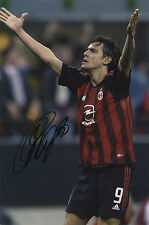 Filippo Inzaghi   'A.C. Milan Footballer ' In Person Signed Colour Photograph.