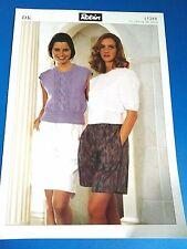 Robin Women's Sweaters Knitting Pattern 15288