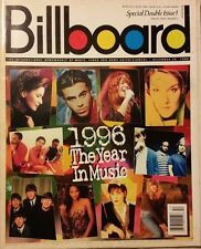 "BILLBOARD MAGAZINE ""THE YEAR IN MUSIC 1996"" SPECIAL DOUBLE ISSUE/GOOD CONDITION"