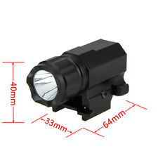 1600Lm CREE R5 LED Tactical Gun Rifle flashlight Torch Rail Mount Hunting Light